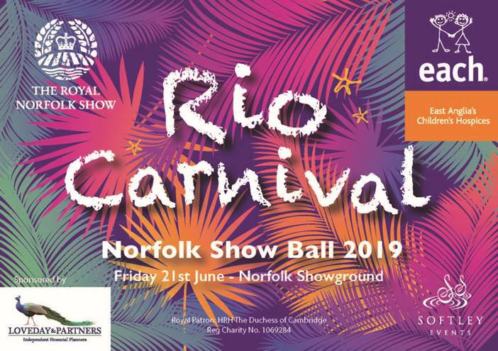 Norfolk Show Ball 2019 Rio Carnival
