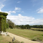 Softley Events - Sennowe Park - View of the garden