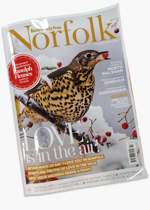 Norfolk Magazine article - February 2019